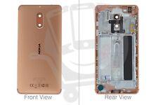 Genuine Nokia 6 TA-1021 Dual Sim Copper Rear / Battery Cover - 20PLEMW0004