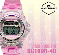 Casio Baby-G Alarm Ladies Sport Watch BG169R-4D AU FAST & FREE