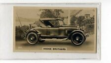 (Jb5147-100)  WILLS NZ,MOTOR CARS,DODGE BROTHERS,1926#40