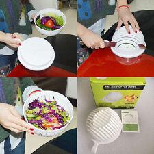 Kitchen 60 Second Vegetable Easy Washer Salad Maker Cutter Bowl Slicer Chopper