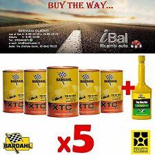 OLIO MOTORE XTC C60 15W-50 5 LITRI (4+1 OMAGGIO) 324040 BARDAHL + TOP BENZINA