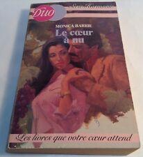 Book in French LE COEUR A NU Livre en Francais Serie HARMONIE - DUO