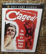 CAGED DVD, NEW AND SEALED, VERY RARE, WITH OSCAR NOMINEE ELEANOR PARKER
