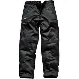 MENS DICKIES WD814 REDHAWK ACTION WORK WORKWEAR TROUSER PANTS 30-48''