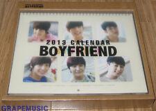 BOYFRIEND BOY FRIEND 2013 OFFICIAL PHOTO CALENDAR + MAKING DVD SEALED