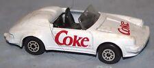 """Coca-Cola, Coke 3"""" White Porsche Convertible Car """"Coke"""""""