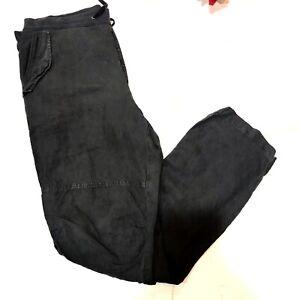 James Pearse Utility Drawstring Linen Cargo Pant (JP Size 4)