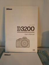 D3200 User's Manual 2012