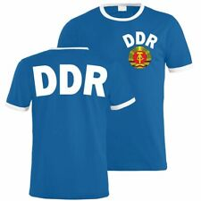 T-Shirt DDR Trikot Team ostdeutschland osten ossi ostdeutsche 1974 sed fdj nva