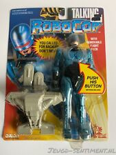 ROBOCOP TALKING CARDED WITH OPEN PACKAGE / MINT WORKING FIGURE MOC 1993