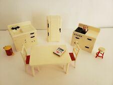 New ListingRenwal 8 pc Kitchen vintage dollhouse furniture