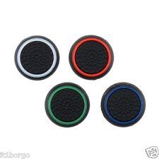 SET GRIP GOMMINI STICK ANALOGICO NERO/COLOR PER CONTROLLER PS4-PS3-XBOX ONE-360