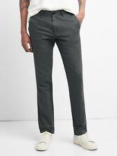 Gap Men Grey Linen Khakis in Slim Fit sz 36W 32L NWT RRP$100