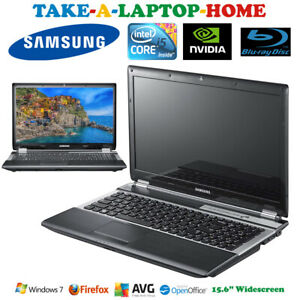 "Samsung i5 Laptop Nvidia Graphics 640Gb BluRay Player Windows7 Office WiFi 15.6"""