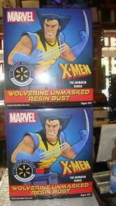 Marvel Wolverine Unmasked Resin Bust Wal-Mart Exclusive Animated Series 448/449