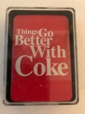 Coca Cola MINI size Playing Cards Sealed New Old Stock from US Playing Co