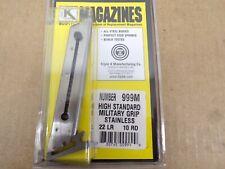 Triple K #999M High Standard Stainless Steel - Military Grip Models