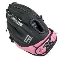"Mizuno Prospect GPP 1105 11"" Fast Pitch Softball Glove Youth Black Pink RHT"