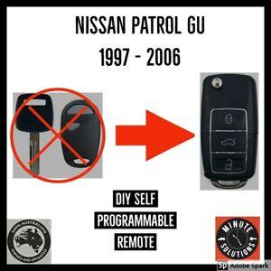 FITS NISSAN PATROL GU Y61 CAR KEY 1997  1999 2000 2001 2002 2003 2004 - 2006