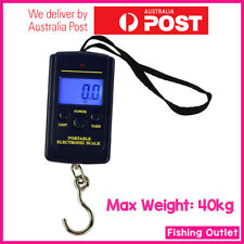 Electronic Pocket Digital Scales 10g-40kg Weight Fishing Travel Luggage Scale