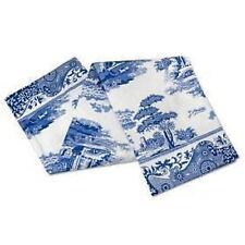 Clásico Azul Italiano Floral Azul Blanco 100% Paño de algodón 45 cm x 74cm