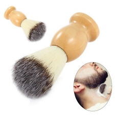 Pro Men Shaving Beard Brush Best Badger Hair Shave Wood Handle Razor Barber Tool