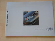 53524) Nissan Maxima QX Prospekt 01/2001