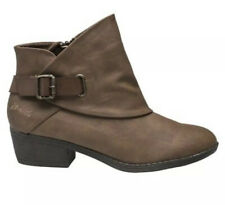 D/244* Blowfish Womens Sill Tan Buckle Detail Ankle Boots UK 8/eur41