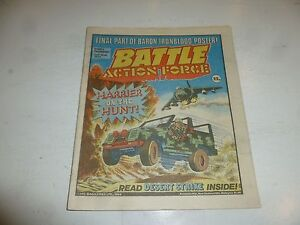 BATTLE ACTION FORCE Comic - Date 02/06/1984 - UK Paper Comic