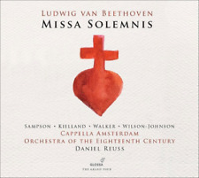 DANIEL REUSS...-LUDWIG VAN BEETHOVEN:MISSA SOLEMNIS-IMPORT CD WITH JAPAN OBI G50