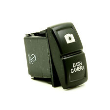 Lumision LED Rocker Switch 4x4 OFF-road laser etched - Dash Camera