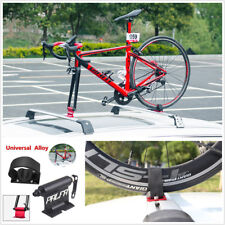 Universal Car Roof Bike Luggage Rack Carrier Quick-release Fork Lock Alloy Black