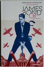 James Bond 007 Service Signed by Kieron Gillen - Dynamite - Antonio Fuso