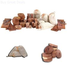 New Cedar For Closets Protector And Anti Moth Accessories Value Pack 71 Items US