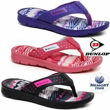 Ladies Memory Foam Walking Fit Flip Flops Fitness Toning Toe Post Sandals Shoes