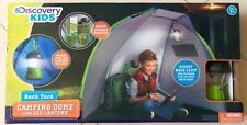 NEW DISCOVERY KIDS BACK YARD CAMPING DOME WITH LED LANTERN TOY BIRTHDAY GIFT