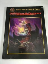 Advanced Dungeons & Dragons Player's Option: Skills & Powers 2154 AD&D 1st Prt