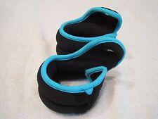 Pair Ankle/Wrist weights 1.5 lbs ea 3 lbs total Hook & loop closure  training