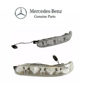 For Mercedes W215 W220 Set of Left & Right Door Mirror Turn Signal Lights OES