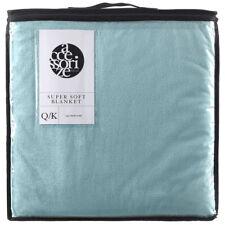 Blanket Super Soft Queen / King Mist