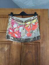 All Saints Spitalfield Cheztek Embellished Mini Skirt Size UK 6 VERY RARE