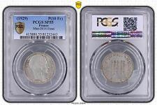 M8747 Rare 10 Francs Essai Ag 500 Cu 400 Zn 050 Ni 050 1929 PCGS SP55 Argent