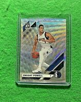 DWIGHT POWELL PRIZM SILVER WAVE CARD MAVERICKS 2019-20 DONRUSS OPTIC BASKETBALL