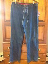 New! Anne Klein Jeans, Women's Size L Large Boot Cut, Medium Blue Denim