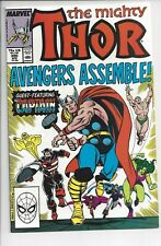 Thor #390 (NM) 9.2 Captain America Lifts the Rock!