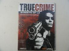 TRUE CRIME STREETS OF LA DAS OFFIZIELLE LÖSUNGSBUCH***DEUTSCH***