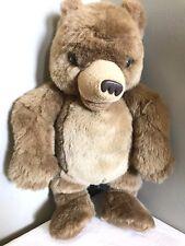 Little Bear Maurice Sendak Plush Talks Laughs Stuffed Animated Kidpower 1998