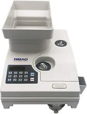 Ribao Hcs 3300 High Speed Coin Counter Coin Sorter Withlarge Hopper Refurbished