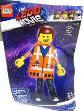 Lego Movie 2 Emmet Kids Halloween Costume w/ Mask Vest Hands, Boys XS 3T - 4T 4