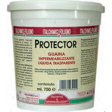 GUAINA IMPERMEABILIZZANTE LIQUIDA TRASPARENTE PROTECTOR ML. 750 - ITALCHIMICI